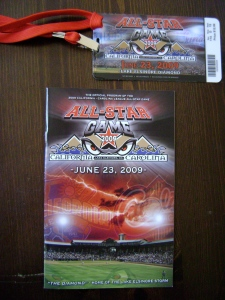 Single A All-Star Game Ticket & Program