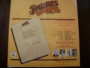 Miller Lite A Dedicated Season Record (Back)