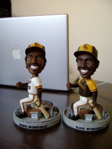 Dave Winfield Home/Away Bobbleheads (Front)