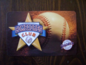 Compadres Club Card