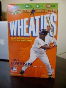 HOF Gwynn Wheaties Box